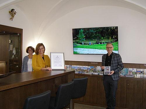 Monika Sommer, Inge Frank und Bernd Sommer