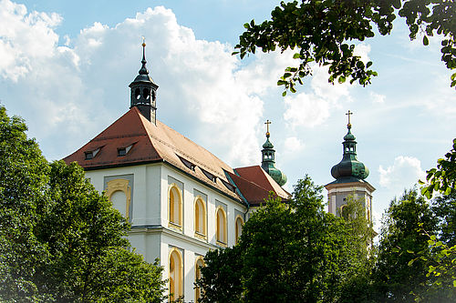 Die Basilika in Waldsassen.